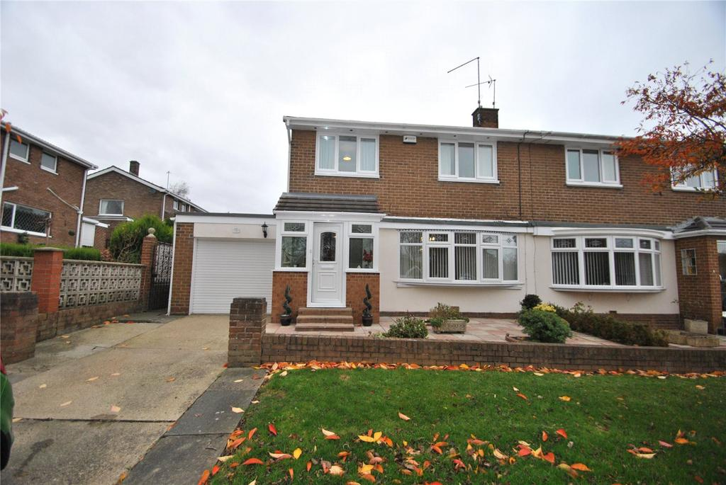 3 Bedrooms Semi Detached House for sale in Woodlands, Seaham, Co Durham, SR7