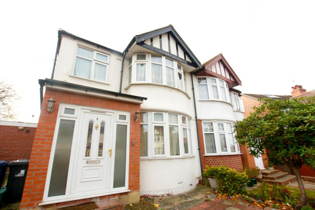 3 Bedrooms Semi Detached House for sale in Rossall Crescent , Hanger Lane, NW10