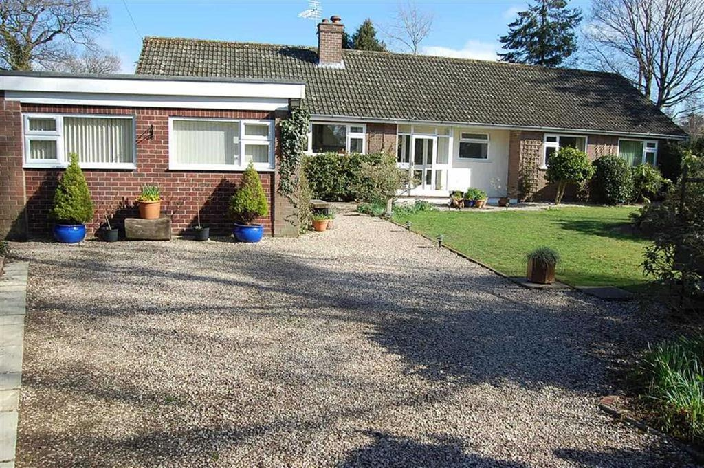 4 Bedrooms Detached Bungalow for sale in Old Coppice, Lyth Bank, Shrewsbury