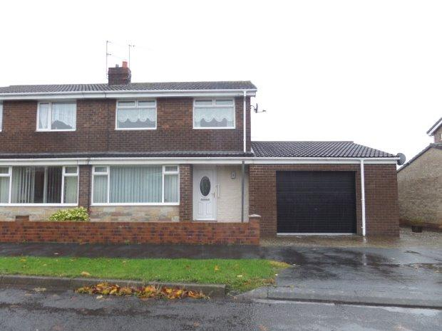 3 Bedrooms Semi Detached House for sale in THIRLMERE GROVE, WEST AUCKLAND, BISHOP AUCKLAND