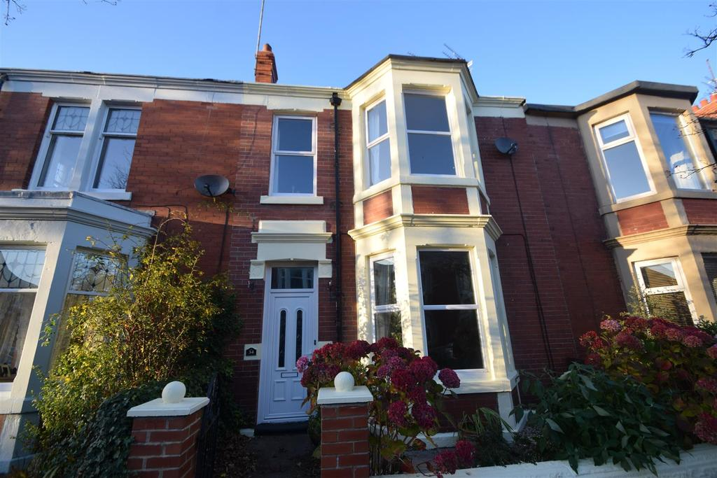 3 Bedrooms Terraced House for sale in Eastbourne Gardens, Whitley Bay