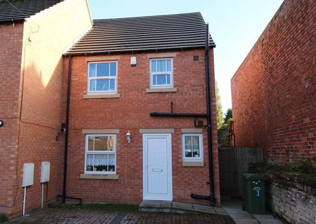 3 Bedrooms Town House for sale in 3 Rope Walk, Worksop