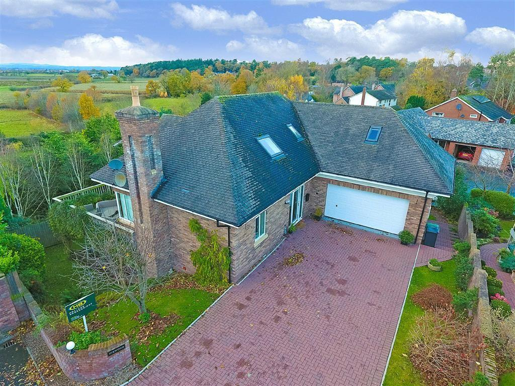 4 Bedrooms Detached House for sale in Holly Bank, Shrewsbury, Shropshire