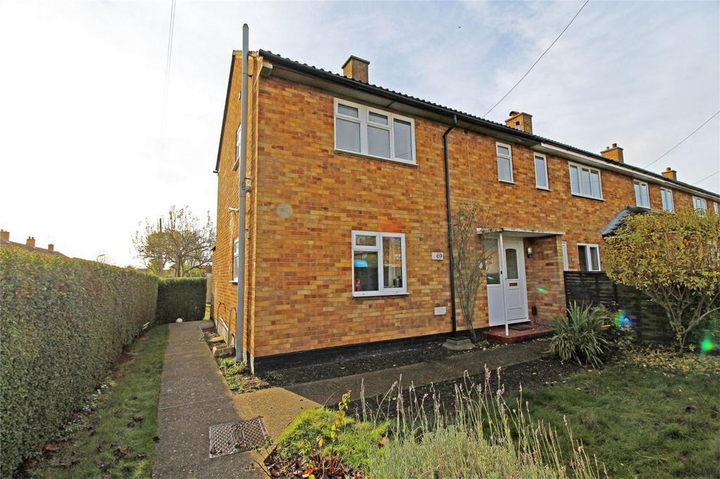 3 Bedrooms End Of Terrace House for sale in Northfields, Letchworth Garden City, Hertfordshire