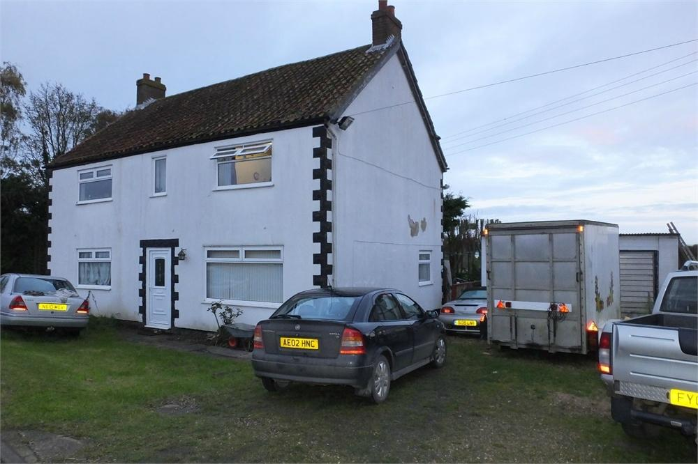 4 Bedrooms Detached House for sale in Hobhole Bank, Old Leake, Boston, Lincolnshire