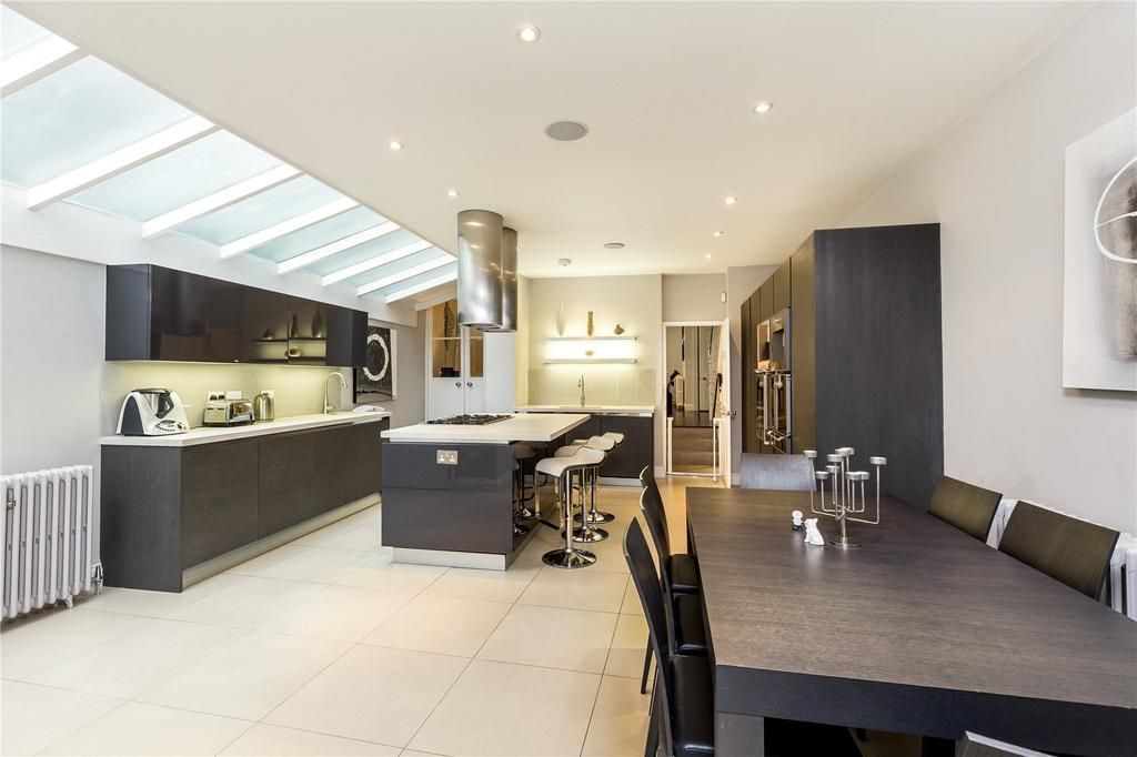 5 Bedrooms Terraced House for sale in Niton Street, Bishops Park, Fulham, London, SW6