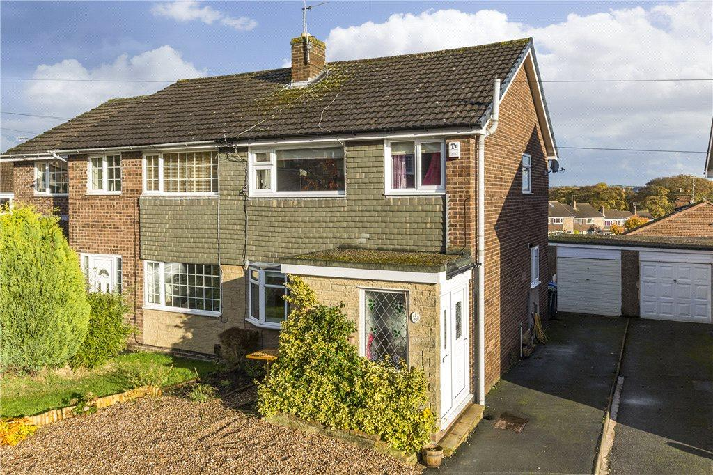 3 Bedrooms Semi Detached House for sale in Wensleydale Rise, Baildon, West Yorkshire
