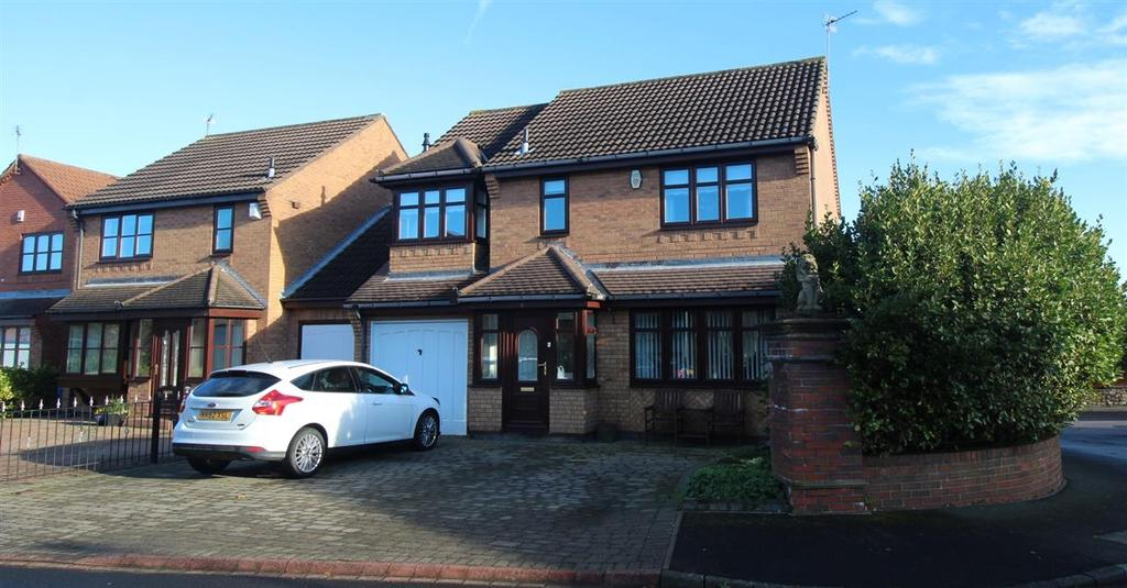 4 Bedrooms Detached House for sale in Murrayfields, Seghill