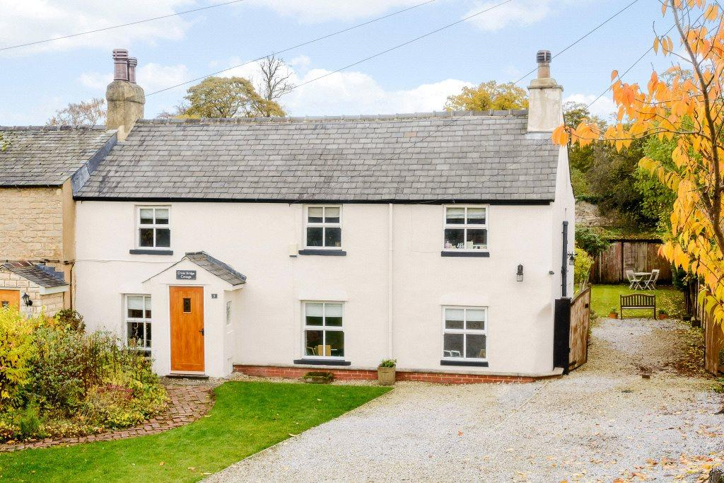 4 Bedrooms House for sale in Cross Bridge Cottage, Bank Row, Aberford, Leeds, LS25