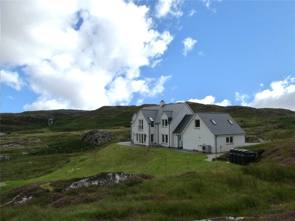 4 Bedrooms Detached House for sale in Clashnessie, Lochinver, Lairg, Sutherland