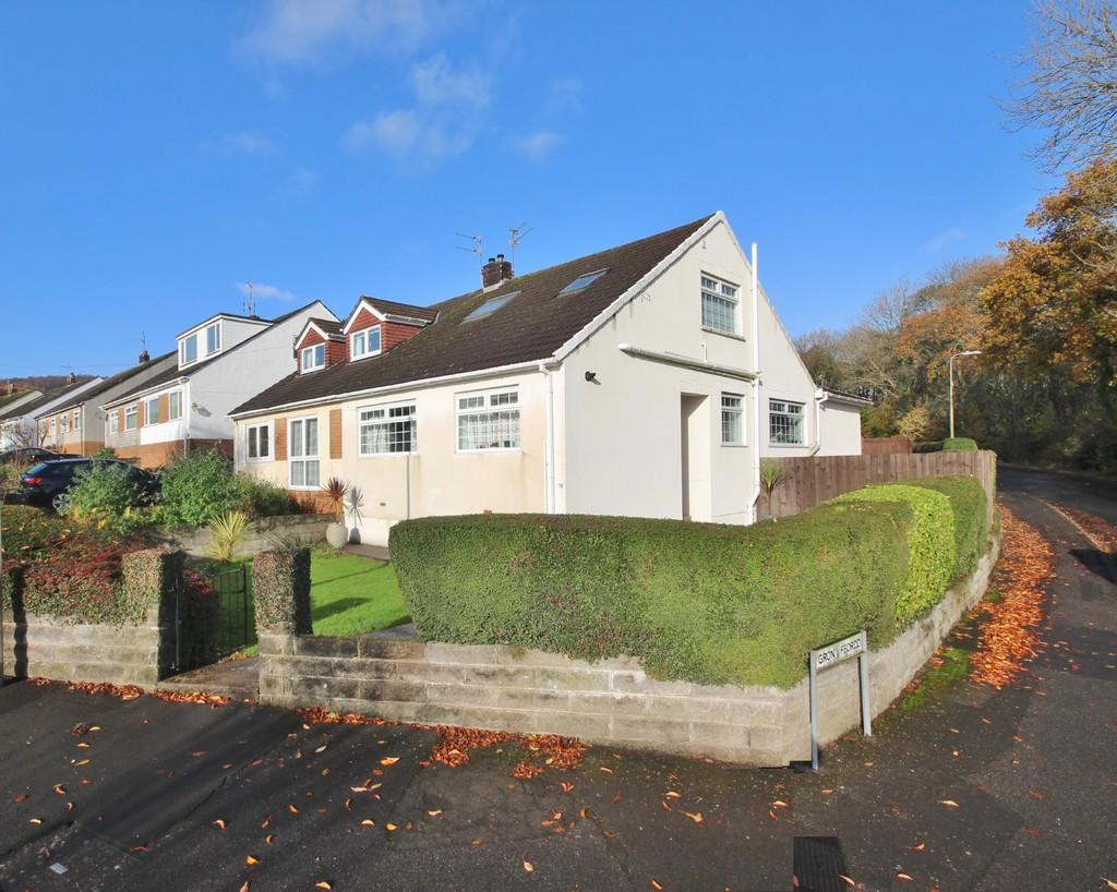 4 Bedrooms Semi Detached House for sale in Heol Uchaf, Rhiwbina, Cardiff