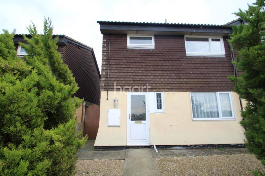 3 Bedrooms End Of Terrace House for sale in Fisher Road, Walderslade, Chatham