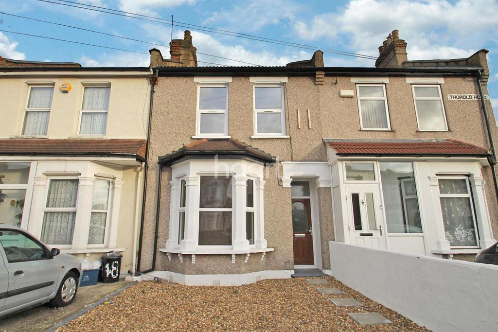 3 Bedrooms Terraced House for sale in Thorold Road, Ilford,Essex