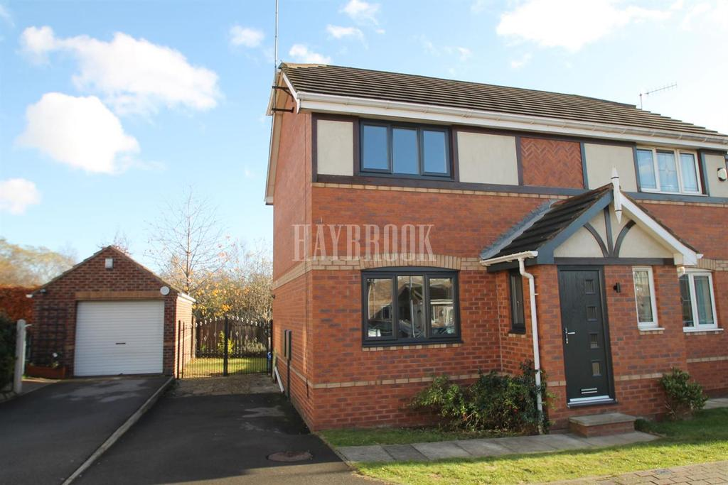 2 Bedrooms Semi Detached House for sale in Larkhill Close, Parkgate