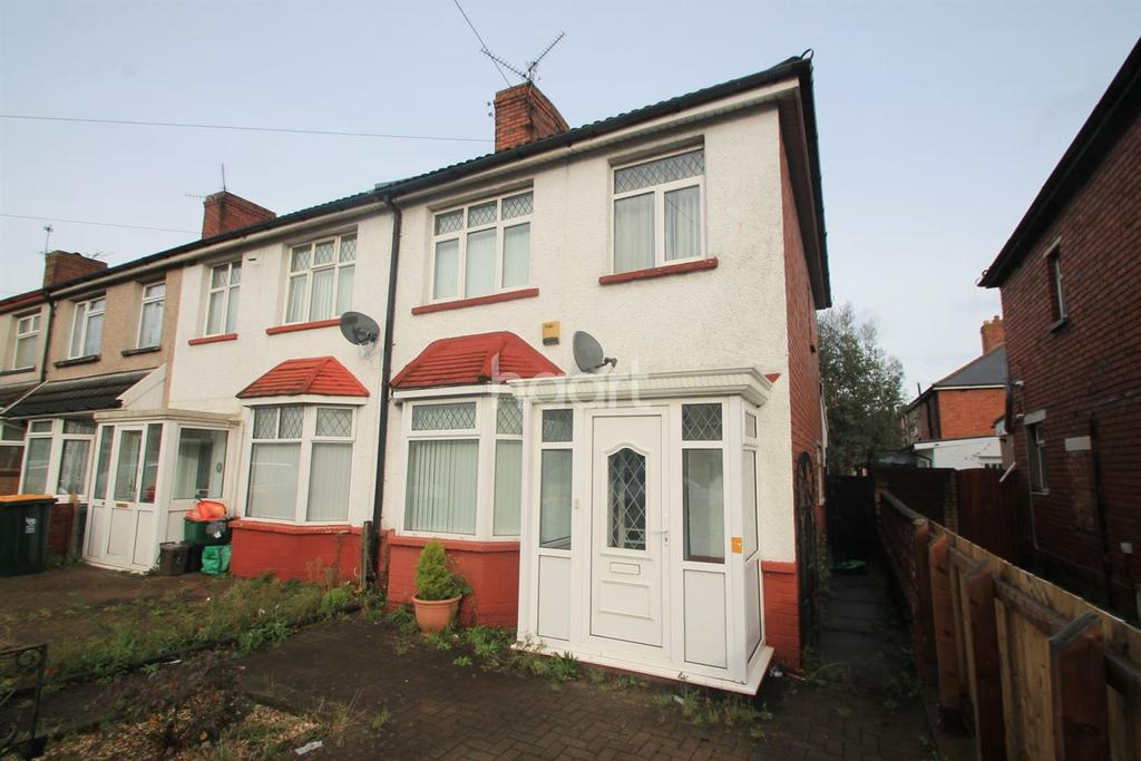 3 Bedrooms End Of Terrace House for sale in Somerton Road , newport