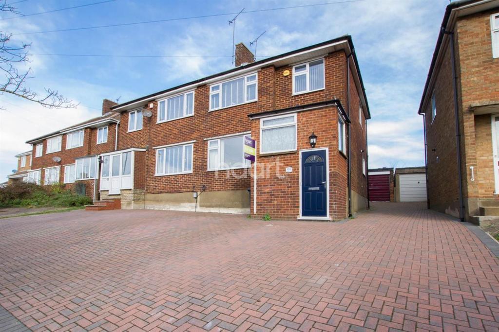 3 Bedrooms Semi Detached House for sale in Grampian Way, Sundon Park