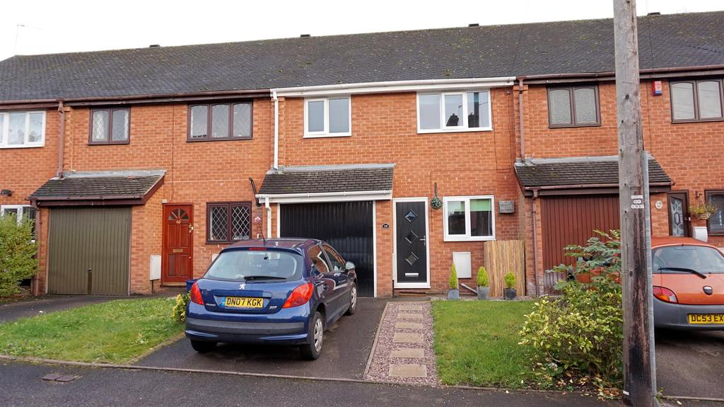 3 Bedrooms Town House for sale in Heath Street, Newcastle, Staffs