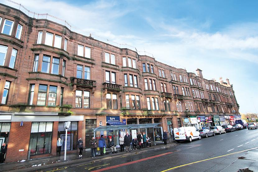 2 Bedrooms Flat for sale in 1597 Great Western Road, Anniesland, G13 1LS