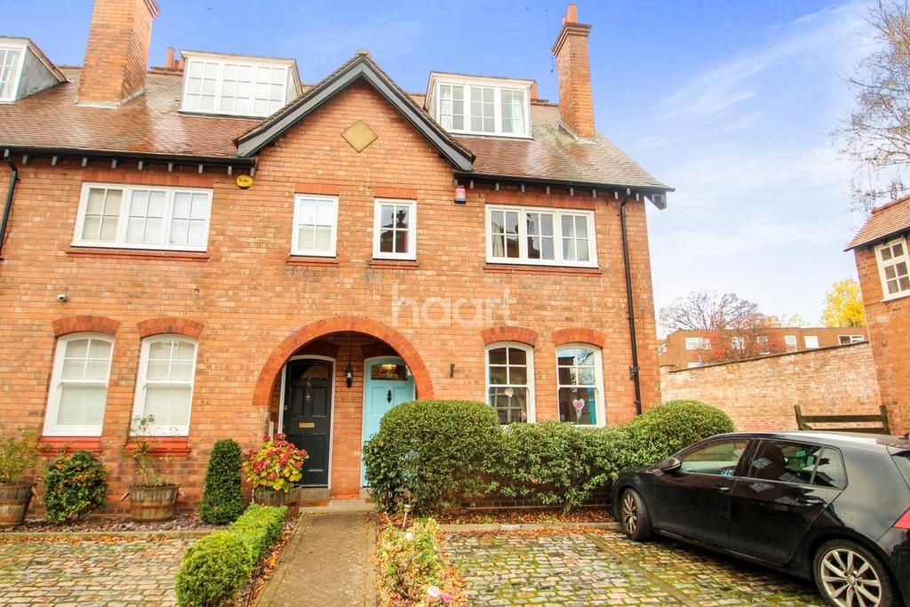 3 Bedrooms End Of Terrace House for sale in The Old Fire Station, Rose Road, Harborne