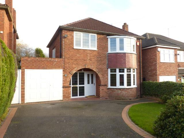 3 Bedrooms Detached House for sale in Calthorpe Close,Walsall,West Midlands