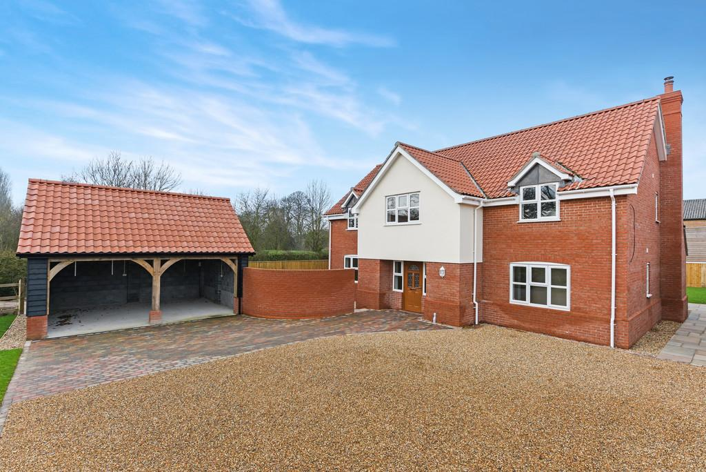 4 Bedrooms Detached House for sale in Wilby, Nr Stradbroke, Suffolk
