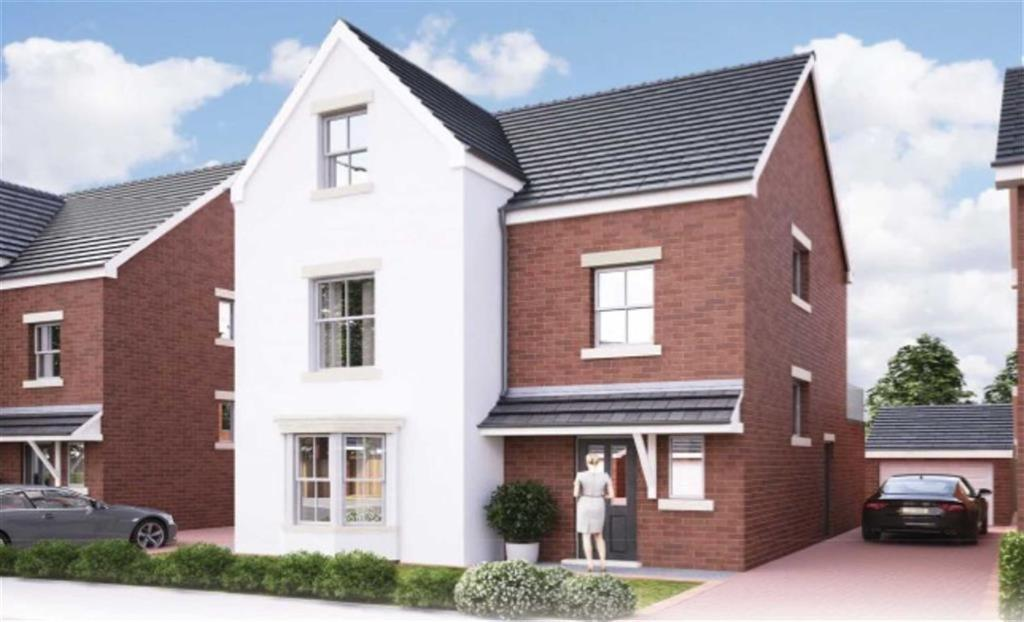 4 Bedrooms Detached House for sale in Phase 2 - The Grace, Gresford, Wrexham