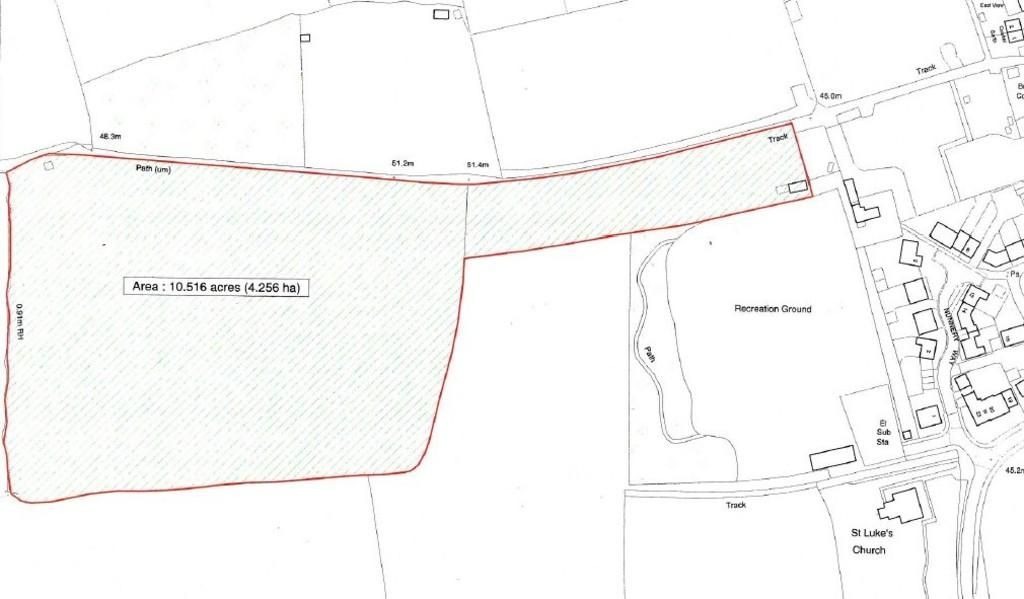 Land Commercial for sale in 10.5 acres (approx PADDOCK LAND, off WESTFIELD LANE, CLIFFORD, LS23 6JP
