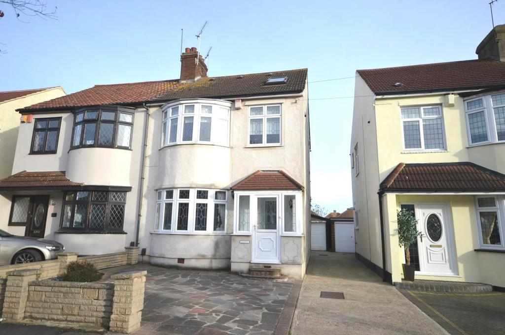 4 Bedrooms Semi Detached House for sale in Crystal Avenue, Hornchurch, Essex, RM12