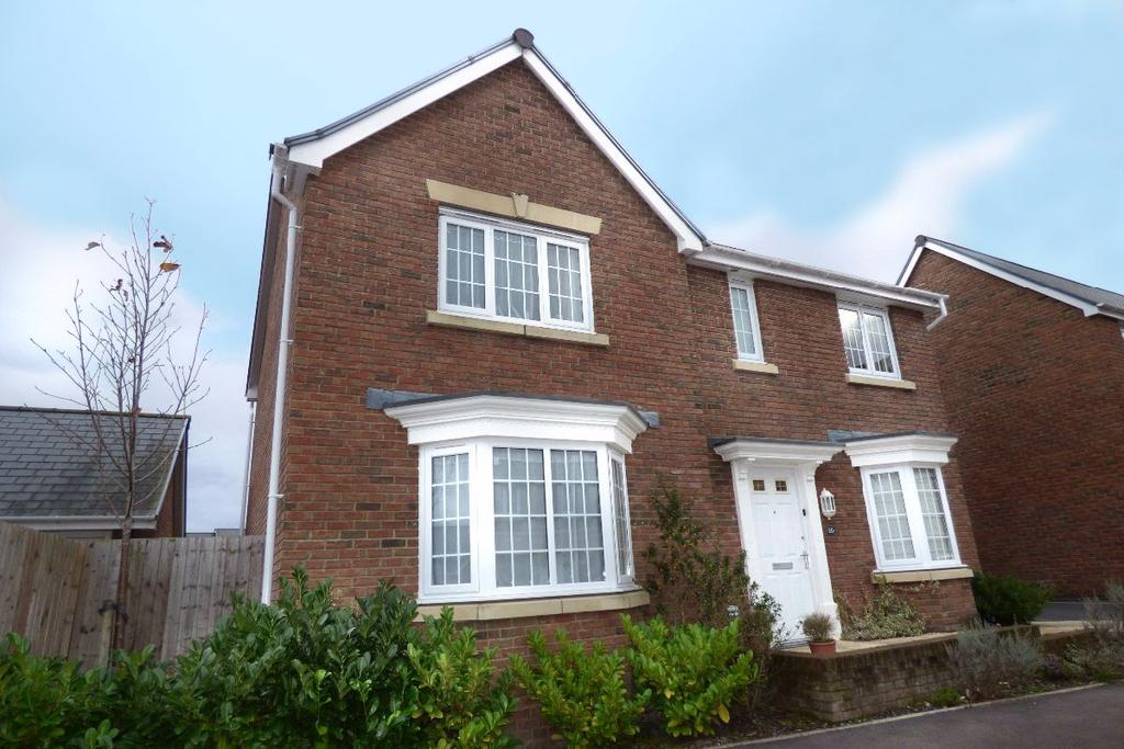 4 Bedrooms Detached House for sale in Punchbowl View, Llanfoist