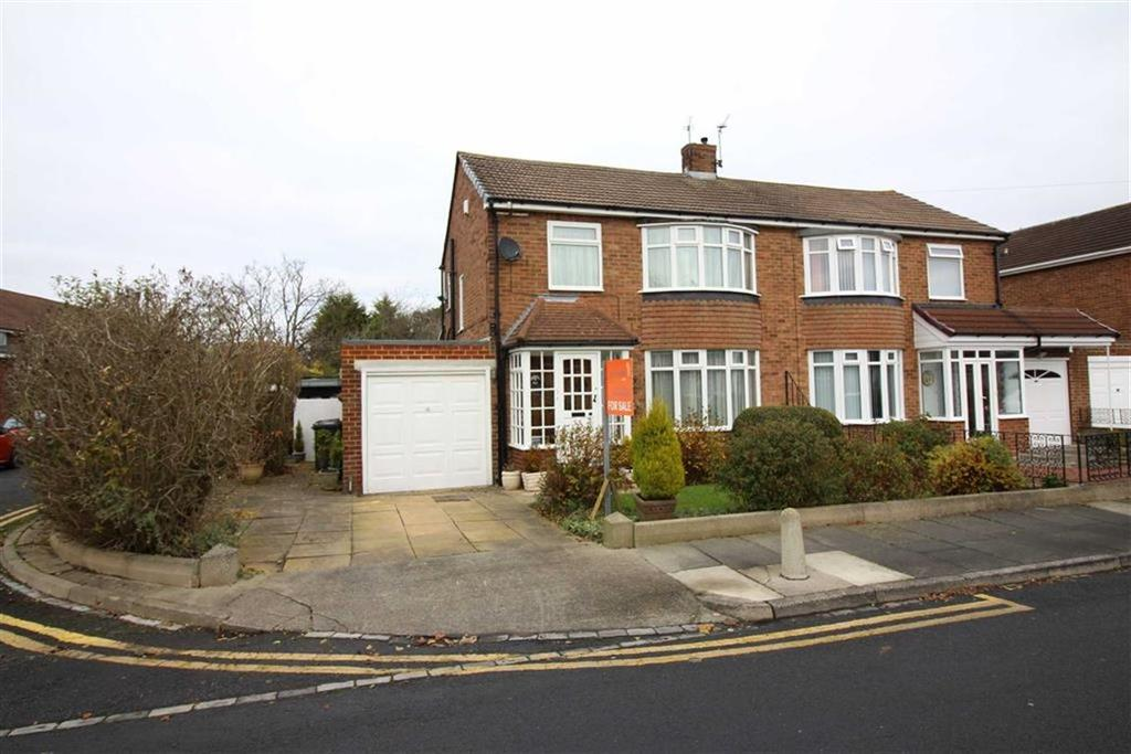 3 Bedrooms Semi Detached House for sale in Worcester Way, Newcastle Upon Tyne, NE13