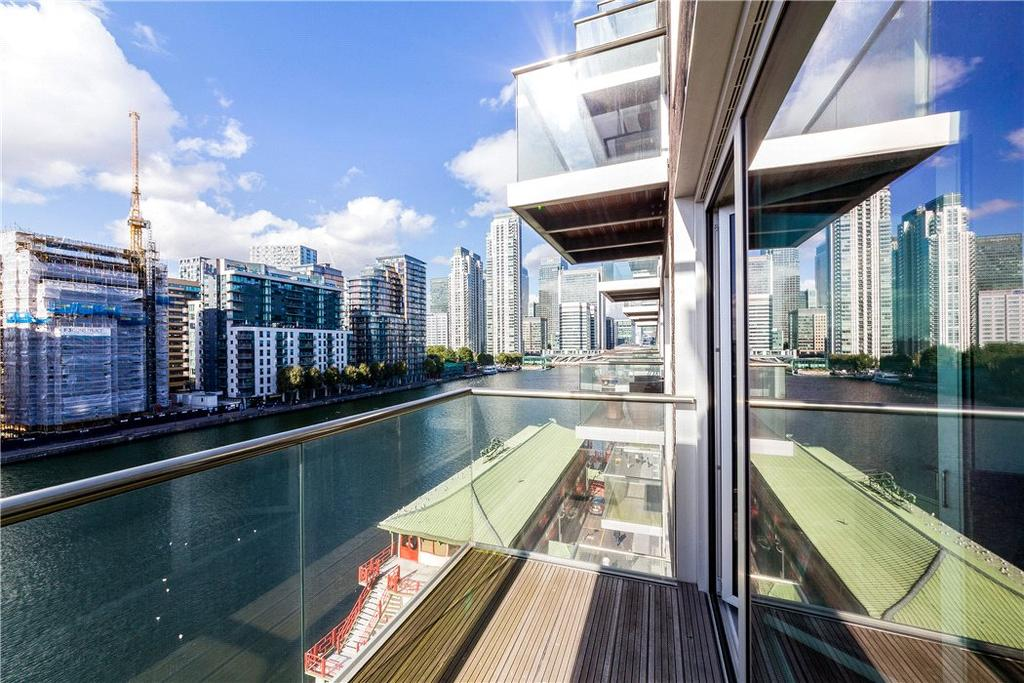 2 Bedrooms Flat for sale in Baltimore Wharf, 4 Oakland Quay, Nr Canary Wharf, London, E14
