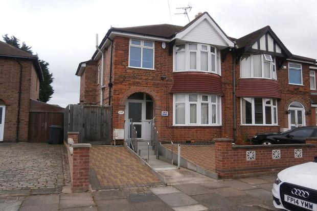3 Bedrooms Semi Detached House for sale in Ardath Road, Belgrave, Leicester, LE4