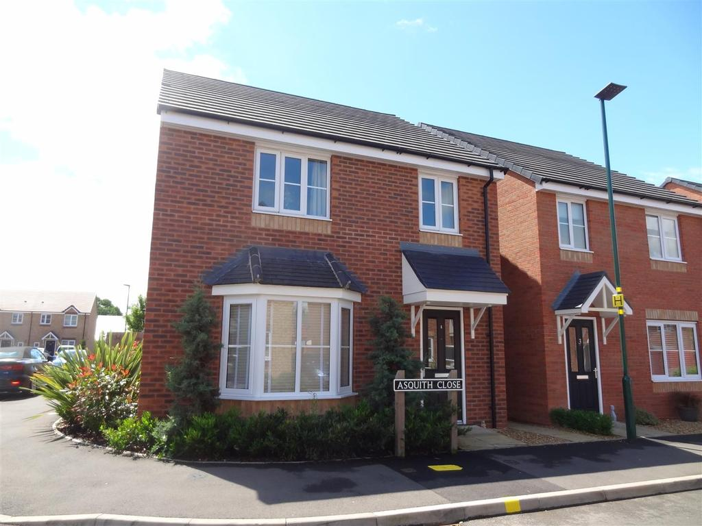 4 Bedrooms Detached House for sale in Asquith Close, Shrewsbury
