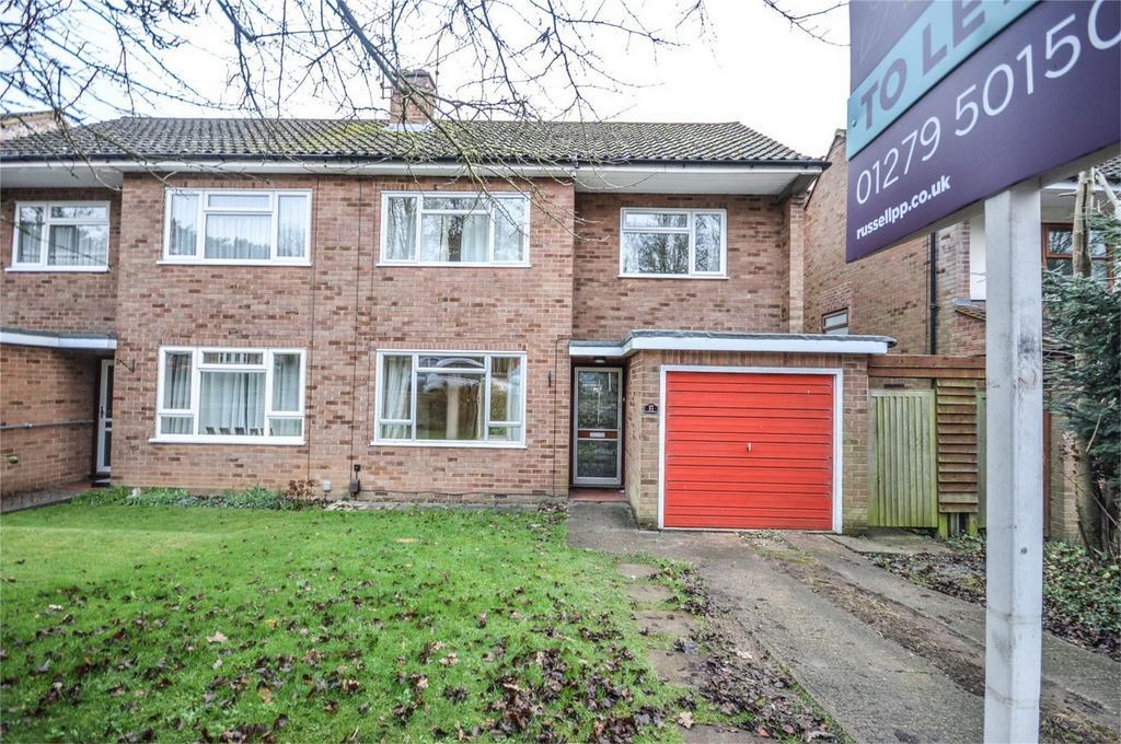 3 Bedrooms Semi Detached House for rent in Proctors Way, BISHOP'S STORTFORD, Hertfordshire