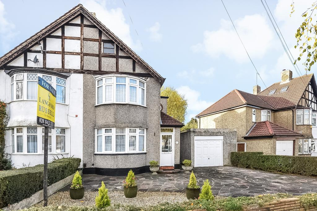 2 Bedrooms Semi Detached House for sale in Birch Tree Avenue West Wickham BR4