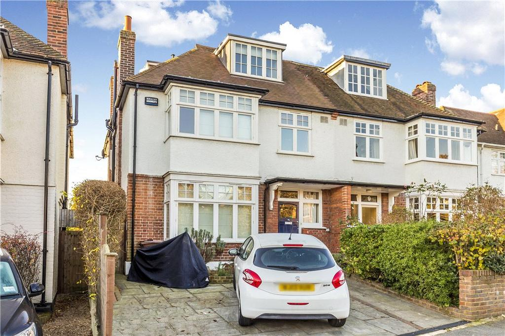 5 Bedrooms Semi Detached House for sale in Murray Road, Wimbledon Village, London, SW19