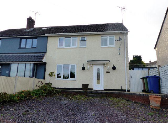 3 Bedrooms Semi Detached House for sale in Hardie Avenue,Rugeley,Staffordshire