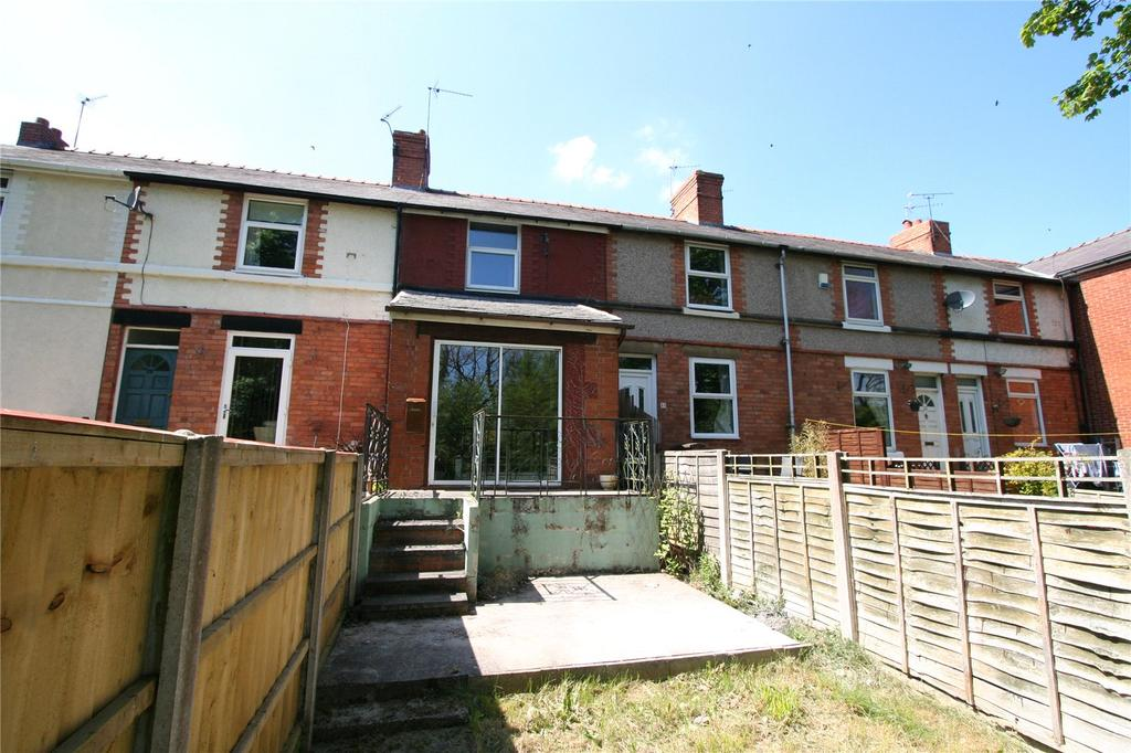 2 Bedrooms Terraced House for sale in Caego Terrace, New Broughton, Wrexham, LL11