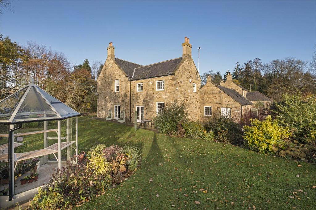 4 Bedrooms Detached House for sale in Netherwitton Village, Morpeth, Northumberland