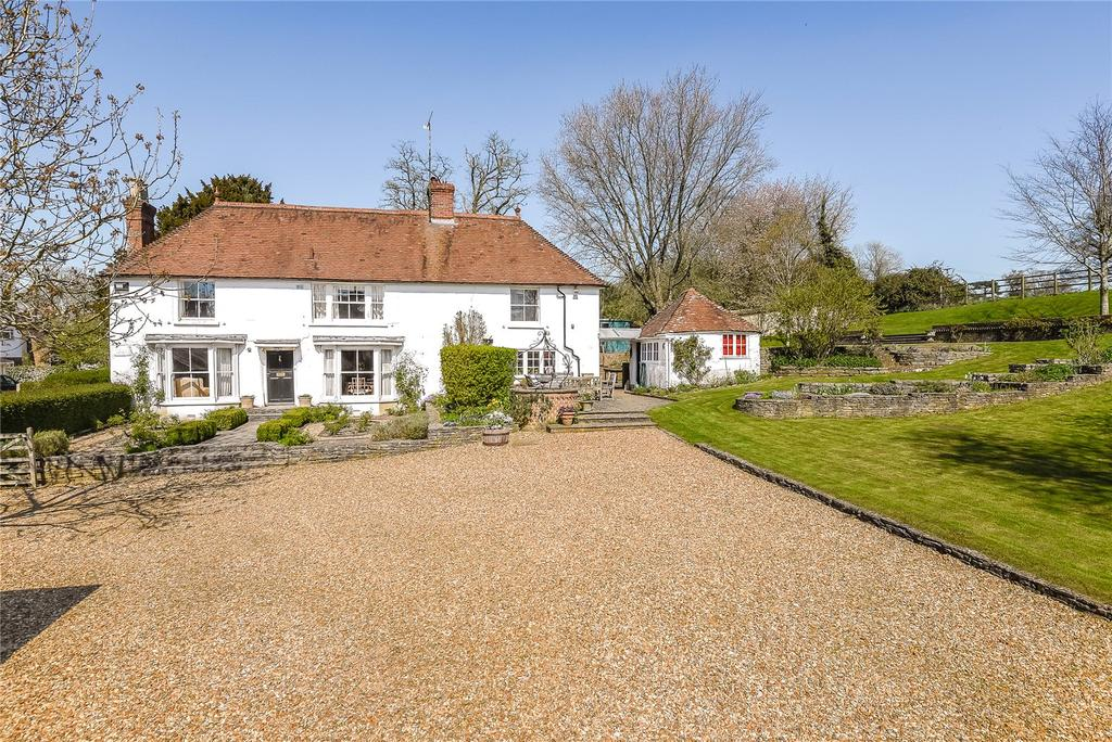 4 Bedrooms Detached House for sale in Chalkcroft Lane, Penton Mewsey, Andover, Hampshire