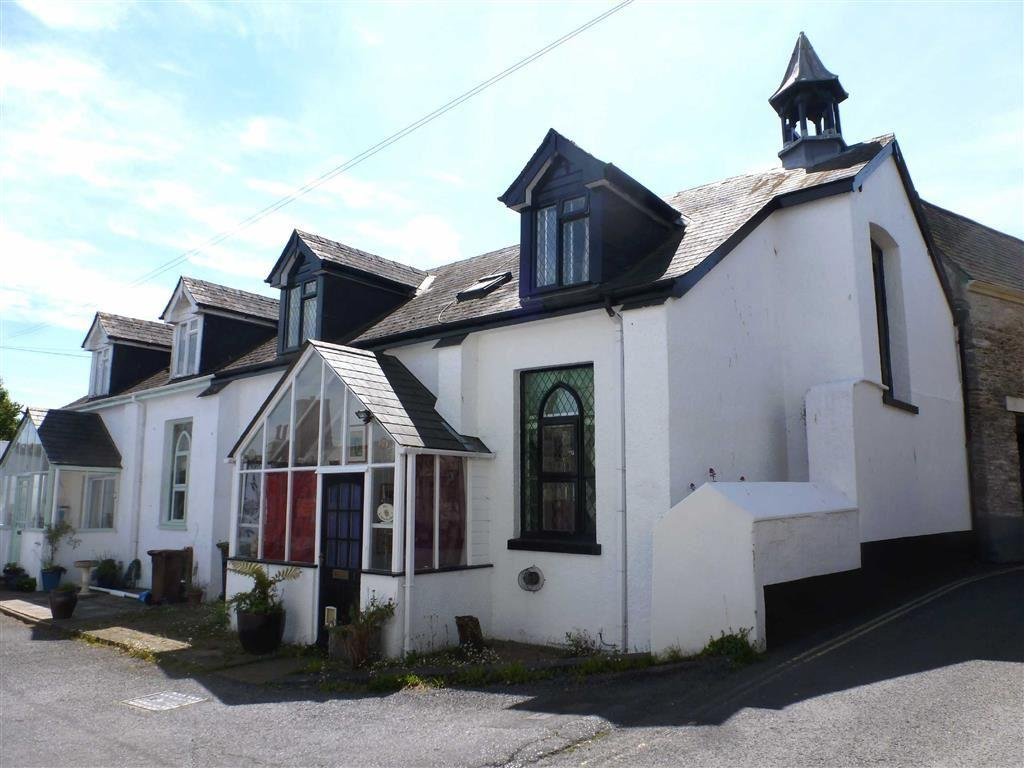 2 Bedrooms Semi Detached House for sale in St Dominics House, South Street, Totnes, Devon, TQ9