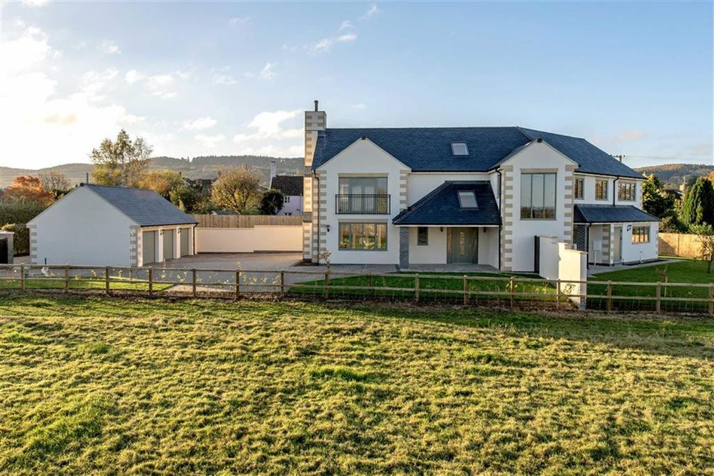 5 Bedrooms Detached House for sale in Blagdon Hill, Blagdon Hill, Taunton, Somerset, TA3