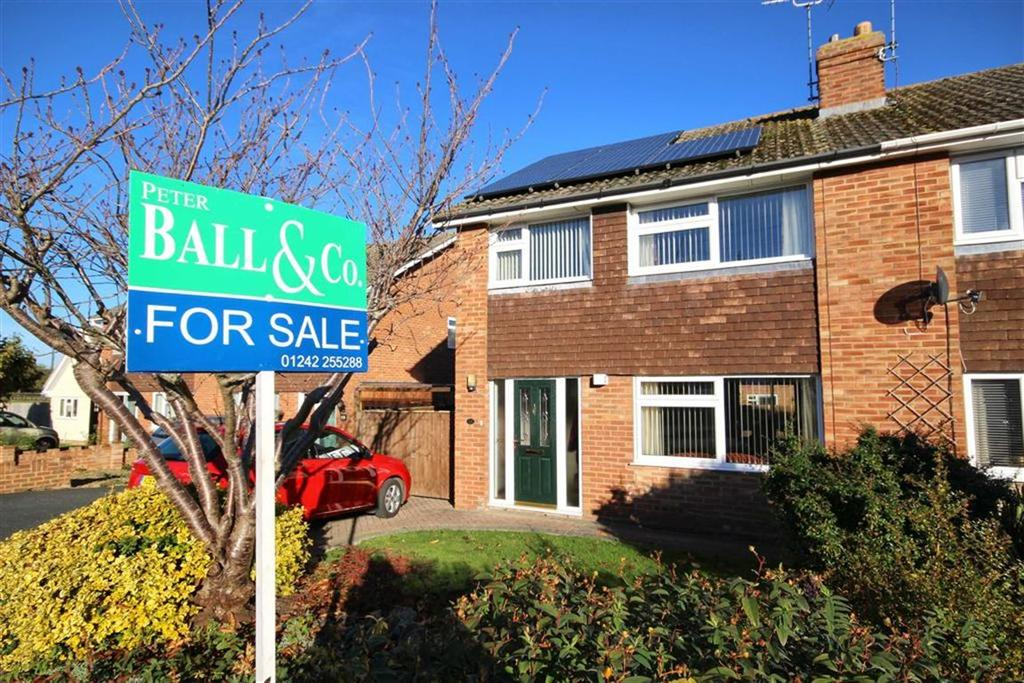 3 Bedrooms Semi Detached House for sale in Leinster Close, Springbank, Cheltenham, GL51