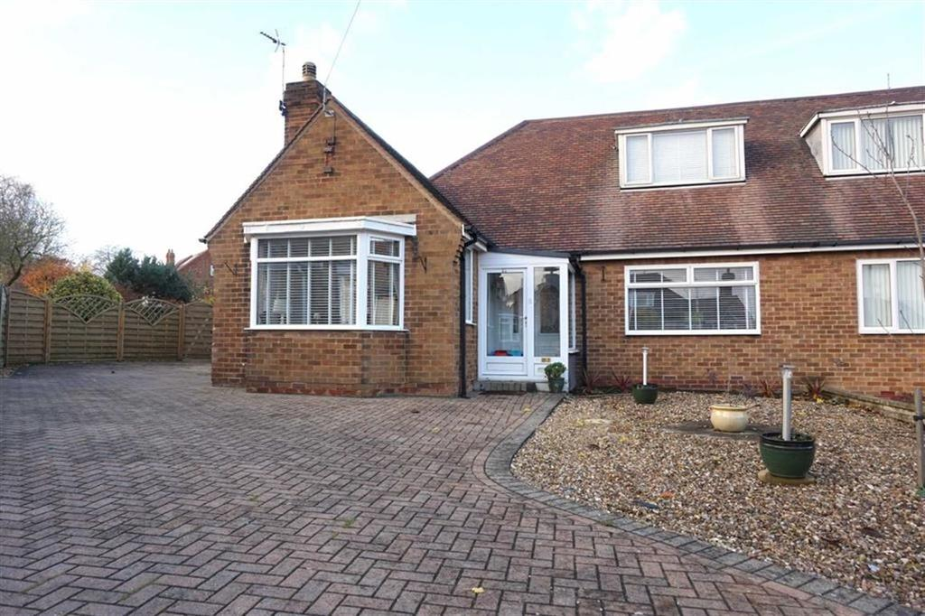 2 Bedrooms Semi Detached Bungalow for sale in Humber View, Hessle, Hessle, HU13