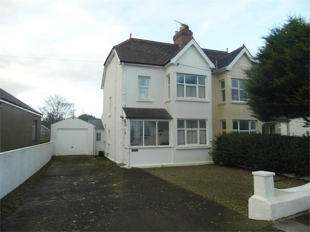 3 Bedrooms Semi Detached House for sale in Cresselly, Sladeway, Fishguard, Pembrokeshire