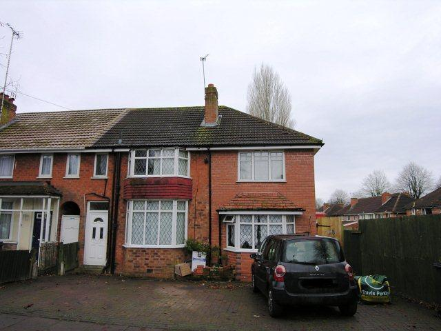 3 Bedrooms End Of Terrace House for sale in Harleston Road,Great Barr,Birmingham