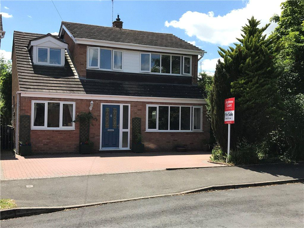 4 Bedrooms Detached House for sale in Geneva Crescent, Crowle, Worcester, Worcestershire, WR7