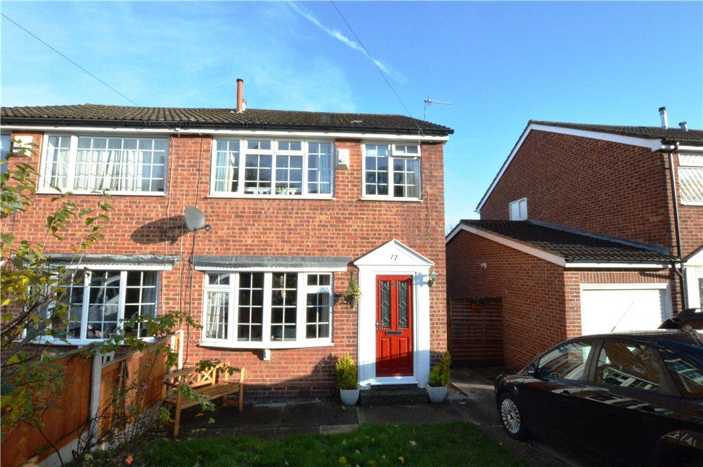 3 Bedrooms Semi Detached House for sale in Airedale Gardens, Leeds, West Yorkshire