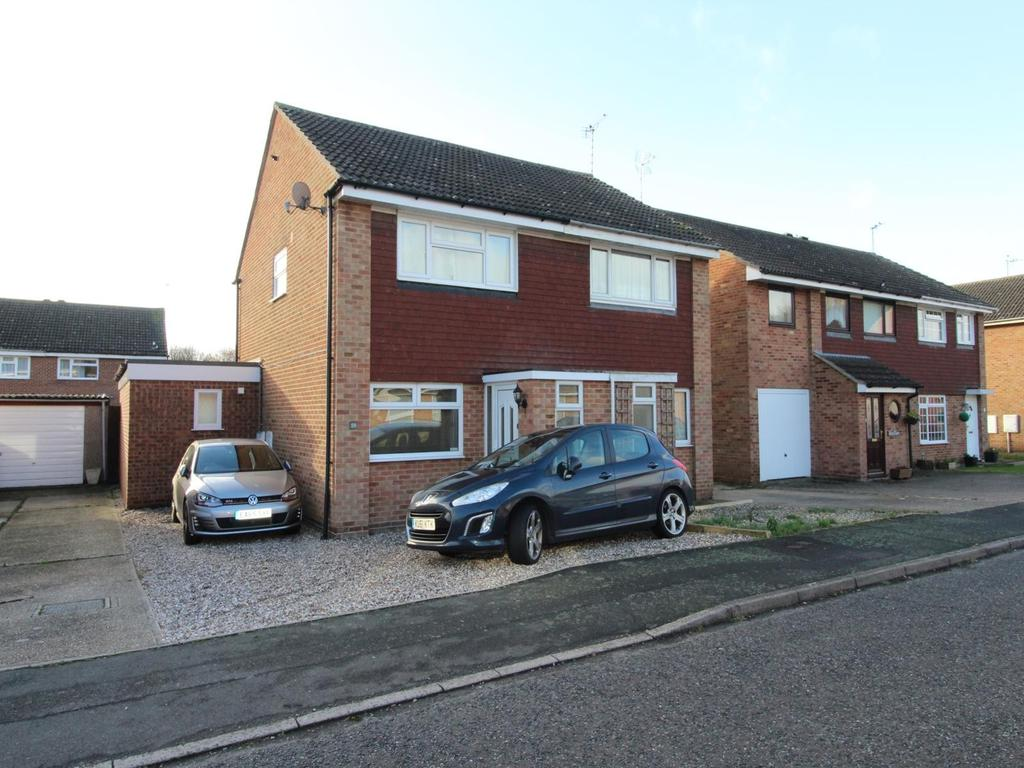 3 Bedrooms Semi Detached House for sale in Ashby Road, Witham, Essex, CM8