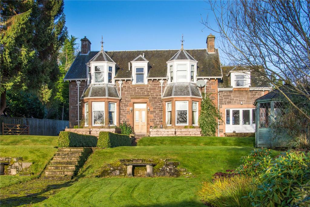 5 Bedrooms Detached House for sale in Dalshian, Western Road, Auchterarder, Perthshire